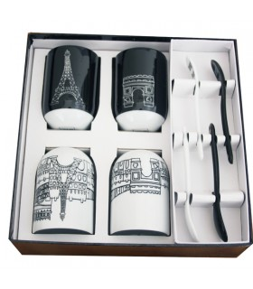 Coffret gobelets Paris