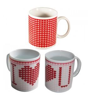 Mug Thermosensible I love you