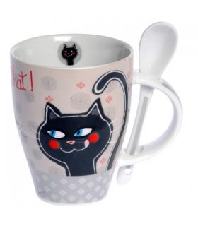 Mug Petite Cuillère Chat