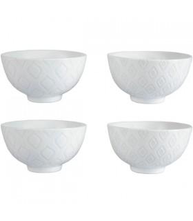 Bol en Céramique Blanc Ice