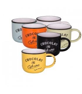 Tasse Chocolat-Thé-Café Crème