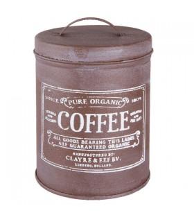 Boîte à Café en Métal Vintage 1