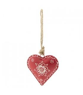 Cœur à Suspendre Rouge