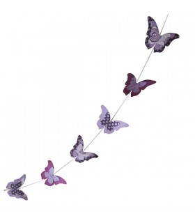 Guirlande Décorative Papillons