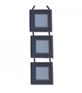 Cadres suspendus en bois | Cadres carrés 9*9 cm