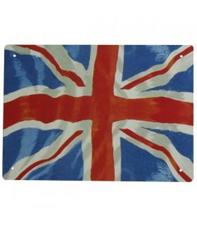Enseigne Métal Union Jack