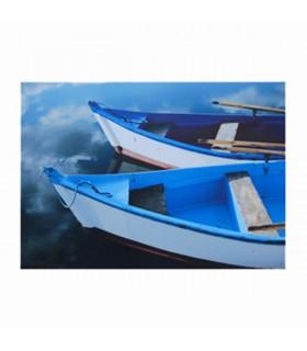 Toile décorative barques